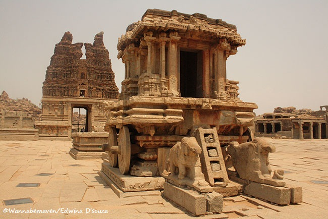 Itinerary for Hampi UNESCO World Heritage Site