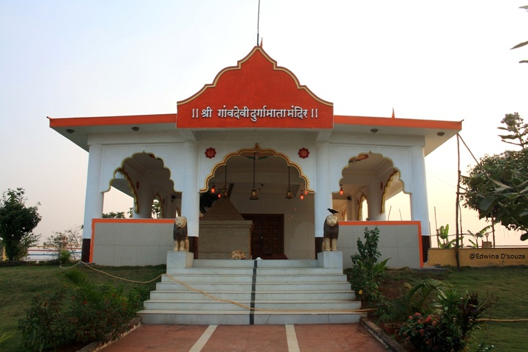 Gaondevi Temple atop Gilbert Hill