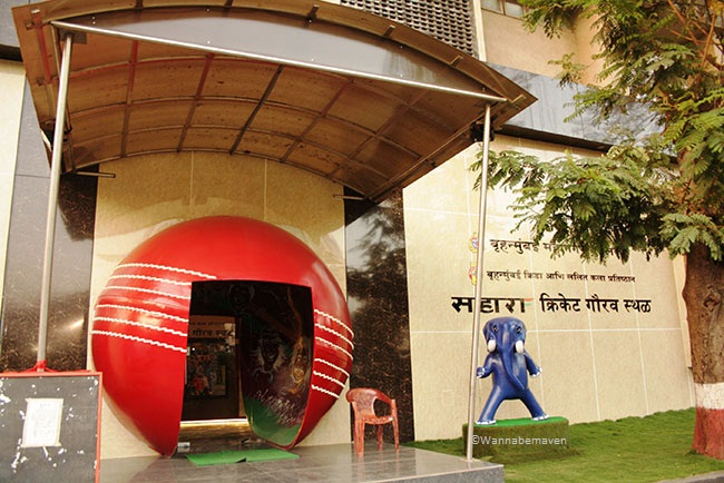 Entrance to Sahara Cricket Gallery and Museum - sahara cricket gaurav point