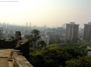 sion fort view atop - Forts in Mumbai