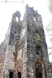 structure inside Vasai Fort