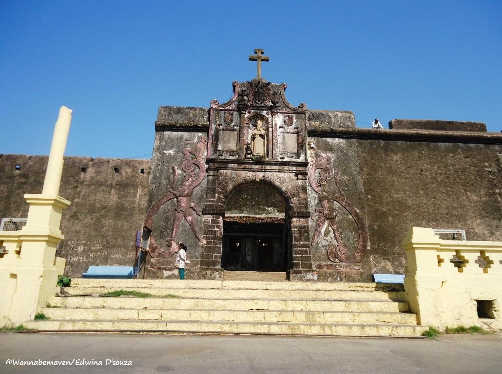 Sao Jeronimo fort - Daman - road trips from mumbai
