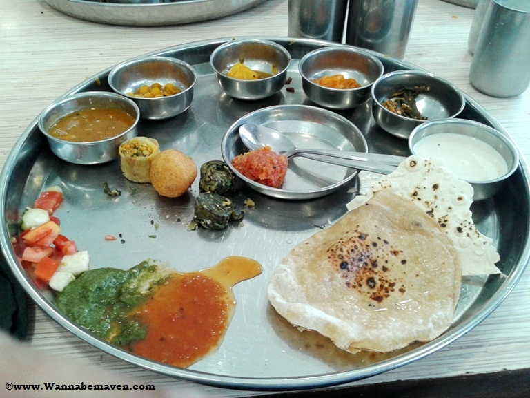 Gujrati thali - things to do in ahmedabad