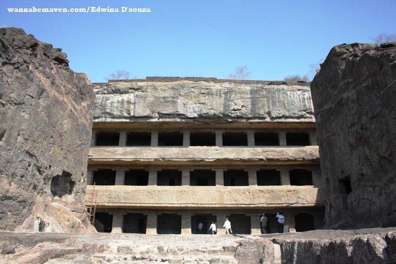 Cave no. 12 - Ellora caves - explore Aurangabad