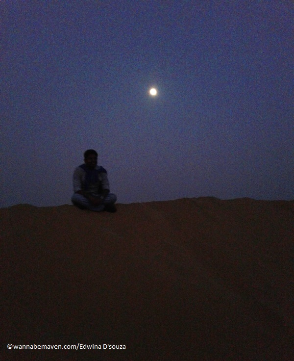 star gazing - Prince Desert camp - best desert camp in jaisalmer
