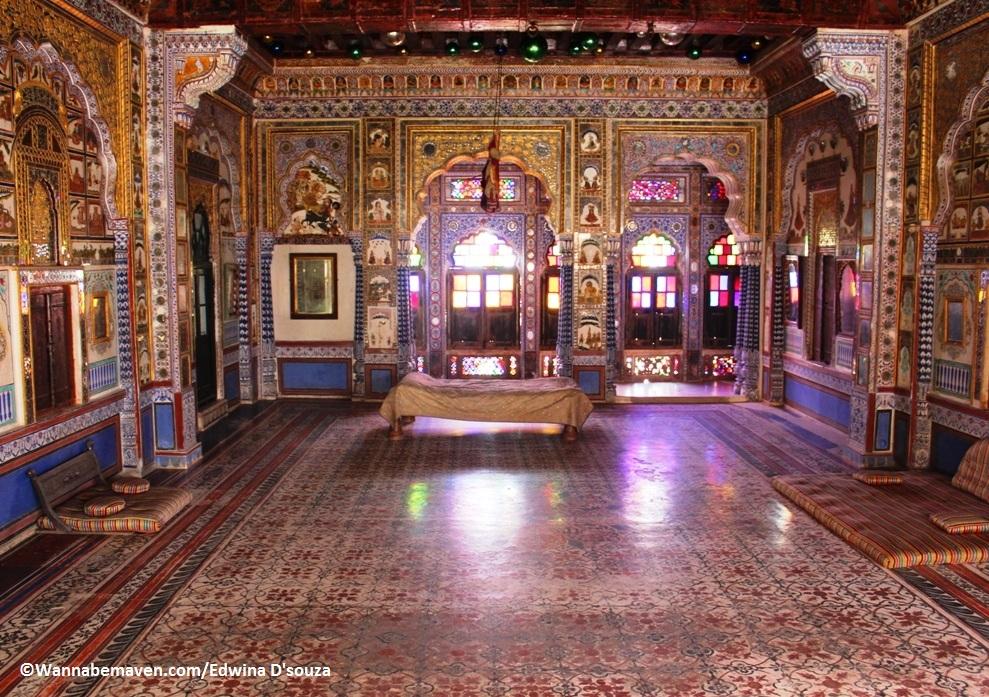 Takhat Vilas-museum and ziplining at Mehrangarh fort jodhpur