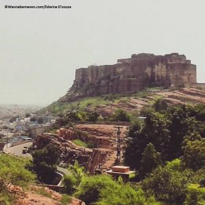ziplining at Mehrangarh fort jodhpur