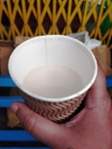 majnu ka tilla travel guide - butter tea - tibetan food